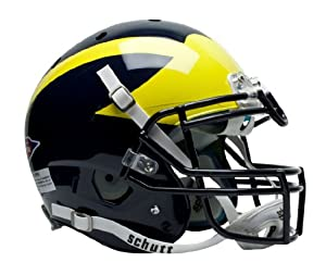NCAA Michigan Wolverines Authentic XP Football Helmet by Schutt