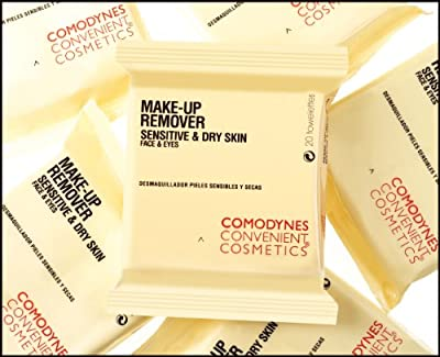 Best Cheap Deal for Comodynes Makeup Removers Toweletts for Face and Eyes with Oats for Dry Skin. 3 -20 towels packs from COMODYNES - Free 2 Day Shipping Available