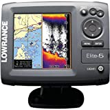 LOWRANCE ELITE-5魚群探知機 /ローランスエリート5/並行輸入品