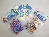 400 Disney Frozen Loom Bands With 20 Frozen Theme Loom Band Charms (FR3) [Toy]