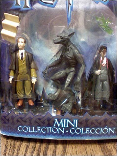 Buy Low Price Mattel Harry Potter and the Prisoner of Azkaban Mini Collection – Professor Remus Lupin, Werewolf and Harry Potter Action Figures From the Novel (B000WG2VS6)