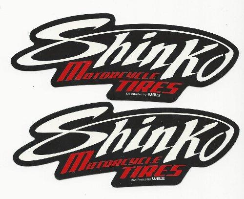 Shinko Tires Racing Decals Stickers Set of 2 Dirt Bike Motorcycles Supercross Motocross ATV