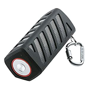 Portable Wireless Bluetooth Speakers Waterproof with Power Bank, Powerful Surround Hi-fi Sound with Enhanced Bass for Music Streaming, Built-in 7000mAh Rechargeable Battery, 20 Hours Playtime (Black)