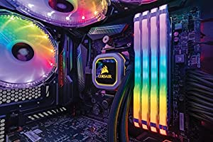CORSAIR Vengeance RGB PRO 32GB (4x8GB) DDR4 3600MHz C18 LED Desktop Memory - White (Color: RGB PRO - White, Tamaño: 32GB (4x8GB))