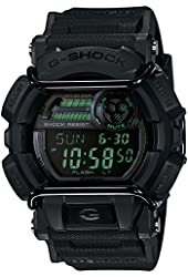 G-Shock GD-400 Military Black Luxury Watch - Black w/ Dark Green / One Size