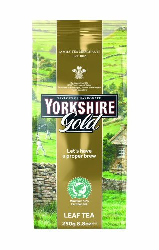 Taylors of Harrogate, Yorkshire Gold Tea, Loose Leaf, 8.8-Ounce Packages (Pack of 3)