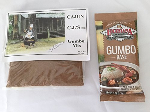 Cajun C. J. 's Gumbo Mix and Louisiana Gumbo Base Food, Beverages ...
