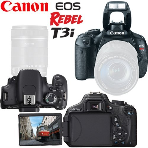 Canon EOS Rebel T3i 18 MP CMOS Digital SLR Camera (Body) + 16GB SDHC Class 10 + Focus Multi Card Reader + Replacement LP-E8 Battery + Accessory Kit Discount