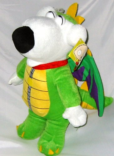 "14"" Family Guy Brian the Dragon Plush - 1"
