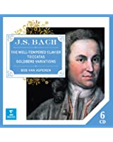 J. S. Bach : Le Clavier bien tempéré -  Toccatas - Variations Goldberg