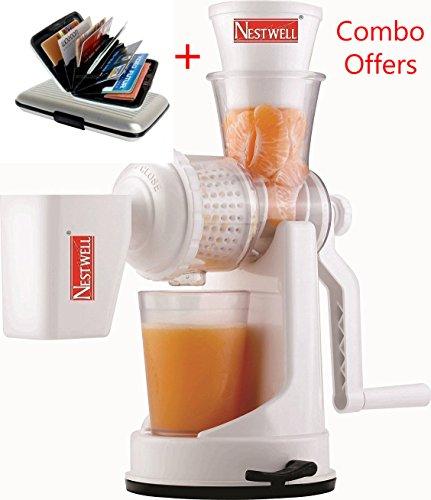 Glive's Nestwell Plastic Vegetable Fruit Hand Juicer Buy 1 Get 1 ATM/Credit Card Holder FREE !!!!