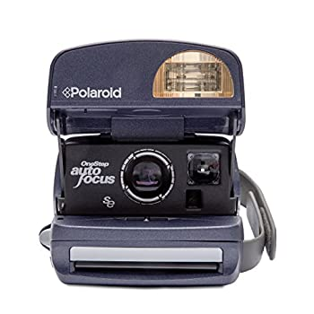 Polaroid 600 Round Instant Film Camera (Blue) (Certified Refurbished)