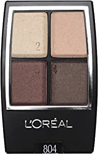 L'Oreal Paris Wear Infinite Eye Shadow Quad, 0.16 Ounce