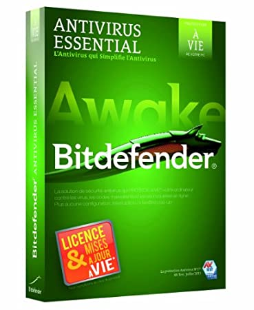 Bitdefender Antivirus Essential (1 poste, licence à vie)