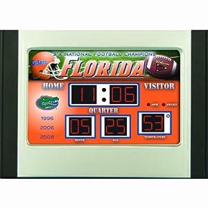Florida Alarm Clock Desk Scoreboard by Team Sports America