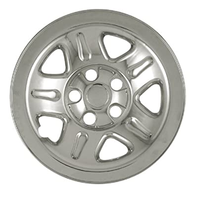 "Bully Imposter IMP-46X, Jeep, 15"" Chrome Replica Wheel Cover, (Set of 4)"