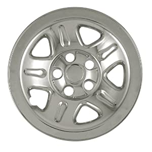 Bully Imposter IMP-46X, Jeep, 15″ Chrome Replica Wheel Cover, (Set of 4)