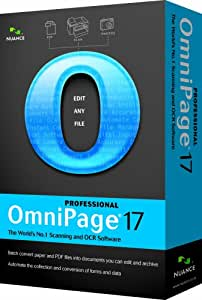Nuance OmniPage Professional 17.0 (PC CD)