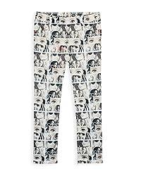 Barbie Girls' Jeans (JESFA161370G011_Brown_13 - 14 years)