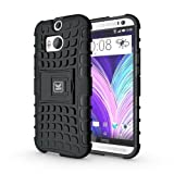 KAYSCASE ArmorBox Heavy Duty Cover Case for HTC One (m8) (HTC One+, HTC One Plus, HTC ONE 2, M8, the All New One) (Lifetime Warranty)