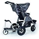 buggyboard kinderwagen buggy trittbrett mitfahrbrett rollbrett schwarz bis 20 kg baby. Black Bedroom Furniture Sets. Home Design Ideas