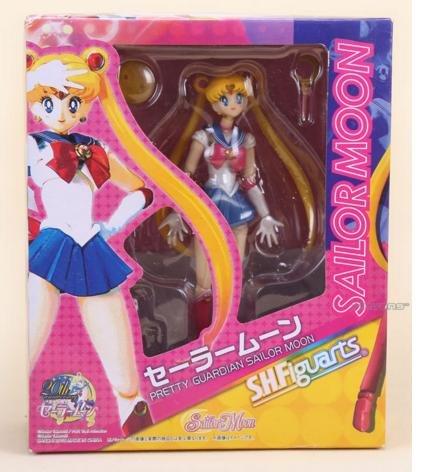 [15cm 6inches Japanese Anime Sailor Moon Mercury Mars Venus PVC Action Figure Toy (Sailor Moon)] (Sailor Moon Sailor Jupiter Wig Adult)