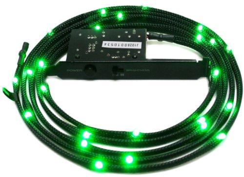 NZXT Sleeved LED Case Light Kit (Green) 2 Meter CB-LED20-GR