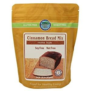 Authentic Foods Cinnamon Bread Mix