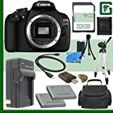 Canon EOS Rebel T5 Digital SLR Camera + 32GB Green's Camera Package 2