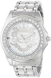 Marc Ecko Men's E95016G6 White Dial Bracelet Watch