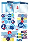 Nautical Party Printables | nautical birthday party decorations and nautical baby shower decorations…