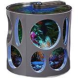 Aqua Culture 1.5-gal LED Fish Tank Resort Ideal for Bettas