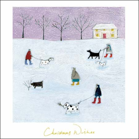 christmas-card-wdm5194-frosty-morning-dog-walkers
