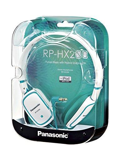 Panasonic HX-200 Headphones White Blue panasonic hx a1 black экшн камера
