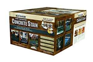 Rust-Oleum 239412A Concrete Stains Kit, Slate Color Hues