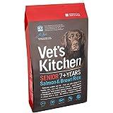 Vet's Kitchen Salmon & Brown Rice Complete Senior Dog Food
