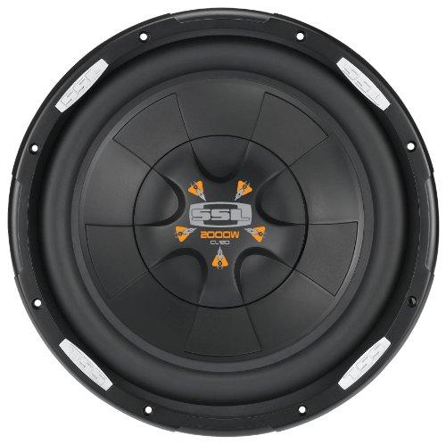 Ssl Cl12D Cl-Dvc 12-Inch 2000-Watt Dual Voice Coil Subwoofer