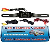 QuickFitLED Car Rear View Reverse Backup Parking Camera Night Vision Waterproof LED