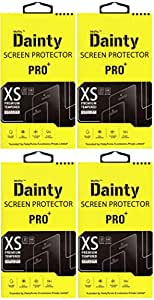 Dainty Premium Curve ( Pack of 4 ) Tempered Glass for Intex Aqua Power Plus +
