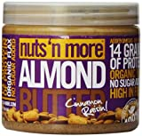 Nuts 'N More 454 g Cinnamon Raisin Almond Butter Supplements from NNM
