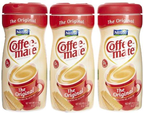Coffee-Mate Powdered Creamer Canisters-Original, 11 Oz, 3 Pk