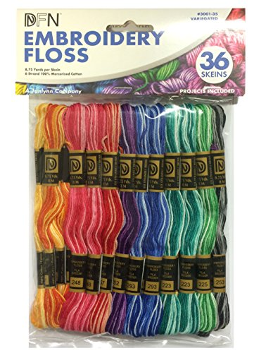 Janlynn Variegated Embroidery Floss