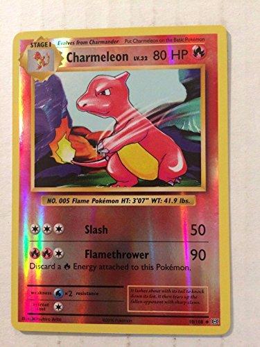 1X Charmeleon (10/108) REVERSE HOLO Uncommon -XY Evolutions -NM- (All Omega Pokemon Cards compare prices)
