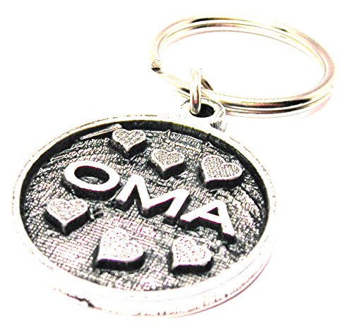 single-charm-oma-keychain