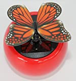 Solar Dancing Butterfly, Moves Wings