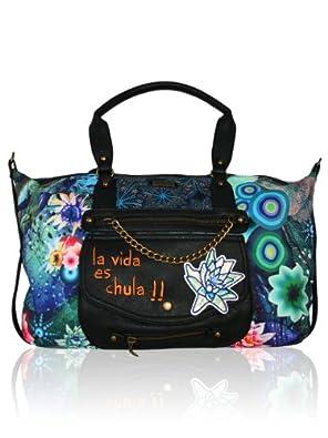 DESIGUAL Damen Designer Handtasche - PARIS BAZAR -: Amazon.de: Schuhe ...