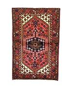 L'Eden del Tappeto Alfombra Hamadan Rojo / Multicolor 152  x  100 cm