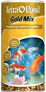 Tetra pond goldfish mix nourriture pour poissons de bassin for Goldfish nourriture