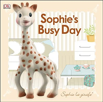 Sophie the Giraffe busy day reading book
