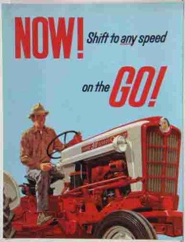 1957-1958 Ford Tractor Sales Brochure 981_871_971_881_681_671_971D_681D & 881D